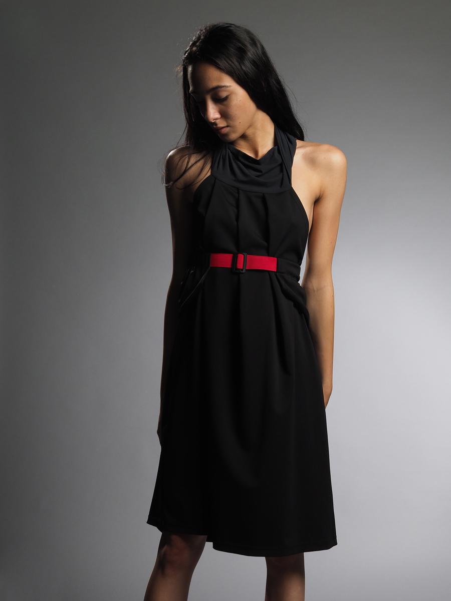 BLACK DRESS/