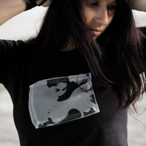 Grunger  black t-shirt