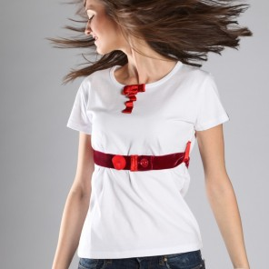 Techno Time •top with red belt
