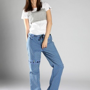 Grunger •trousers in blue