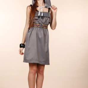 Hip hop  Head • dress in grey