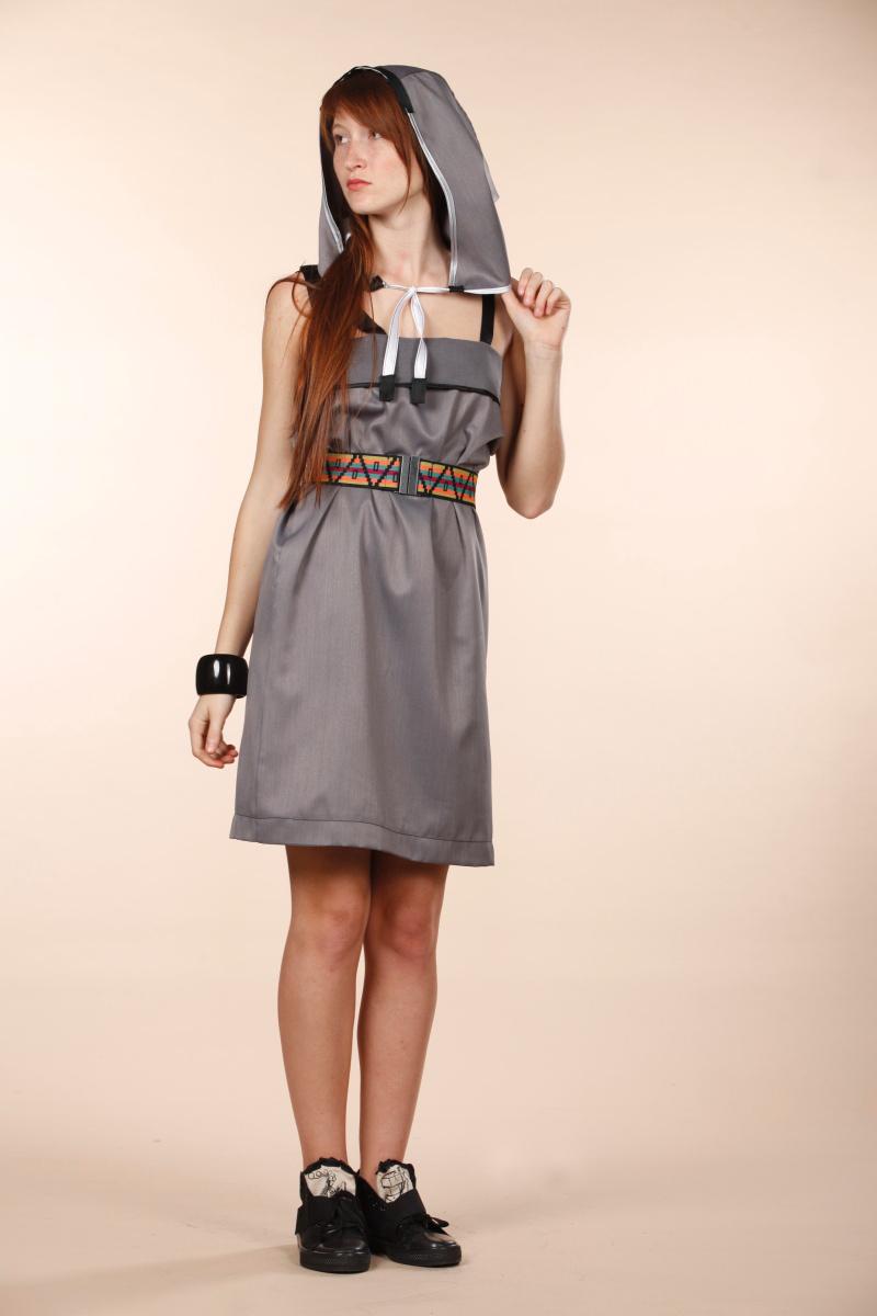 Hip hop  Head • dress in grey