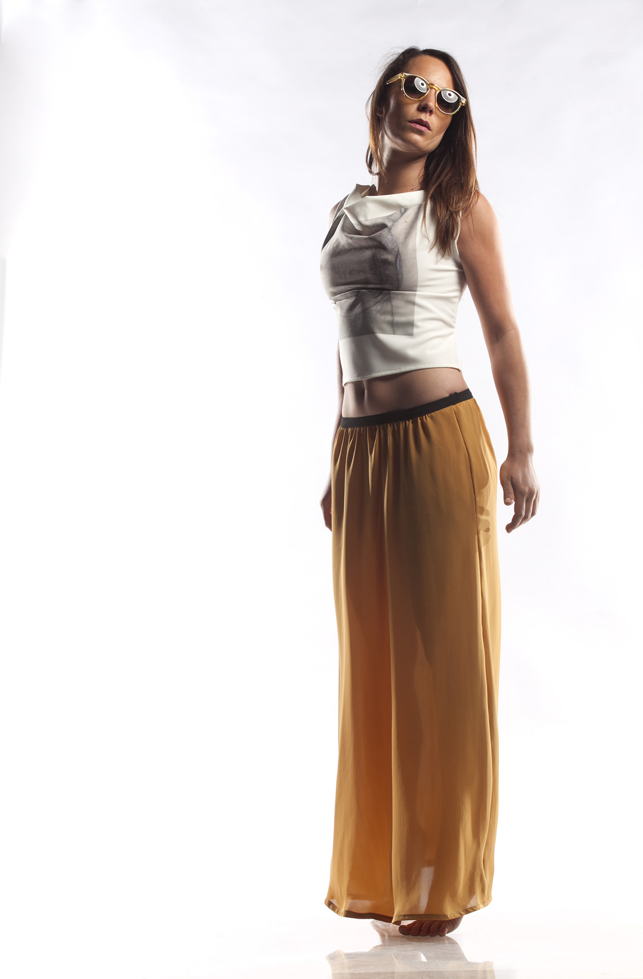YALLOW SKIRT