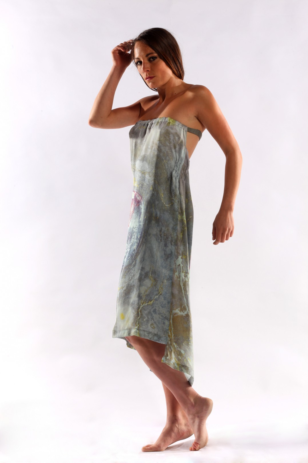 ANCIENT MURALS PRINT DRESS